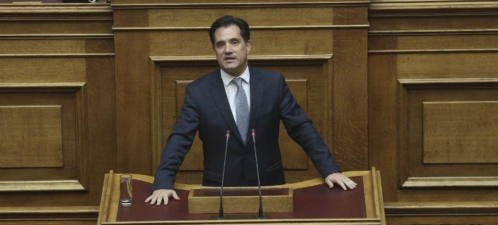 Ο αντιπρόεδρος της Νέας Δημοκρατίας, βουλευτής Β' Αθηνών, Άδωνις Γεωργιάδης