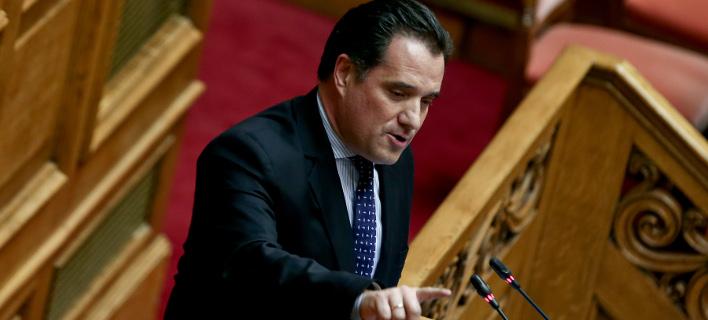 Ο Αδωνις Γεωργιάδης (Φωτογραφία: IntimeNews/ΤΖΑΜΑΡΟΣ ΠΑΝΑΓΙΩΤΗΣ)