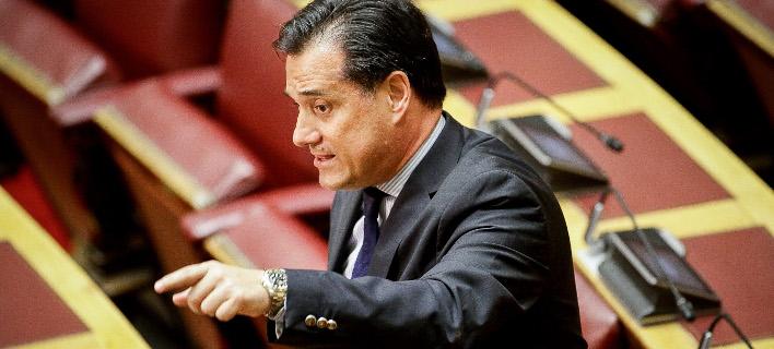 Ο Αδωνις Γεωργιάδης (Φωτογραφία: EUROKINISSI/ ΠΑΝΑΓΙΩΤΗΣ ΣΤΟΛΗΣ)