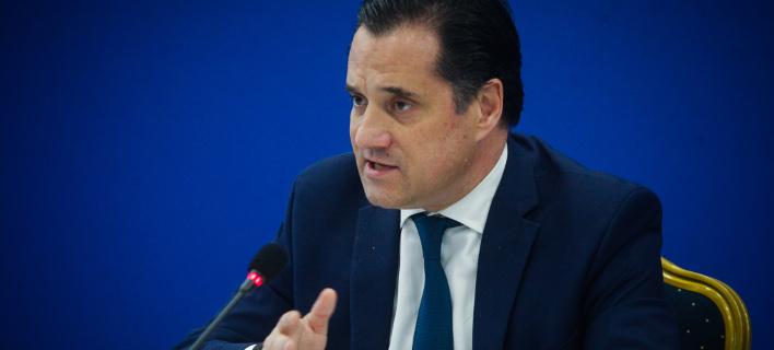 Ο Αδωνις Γεωργιάδης (Φωτογραφία: EUROKINISSI/ ΧΡΗΣΤΟΣ ΜΠΟΝΗΣ)