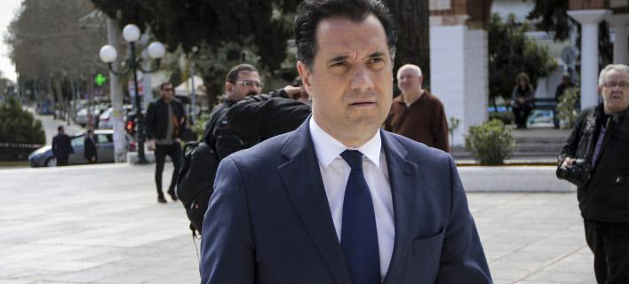Ο αντιπρόεδρος της ΝΔ Αδωνις Γεωργιάδης