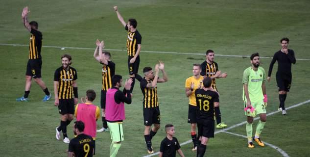Ξεκινά η προσπάθεια της ΑΕΚ στο Europa League / Φωτογραφία: Intime