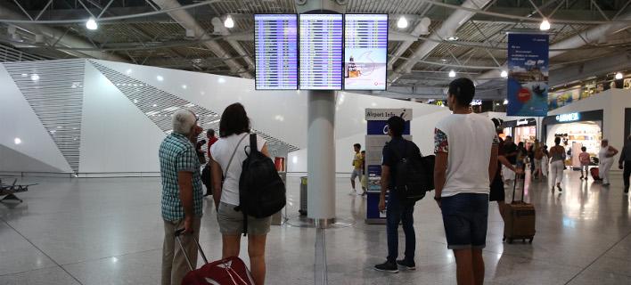 Αυξήθηκε τον Ιούλιο η επιβατική κίνηση στον Διεθνη Αερολιμένα Αθηνών/ Φωτογραφία intime news