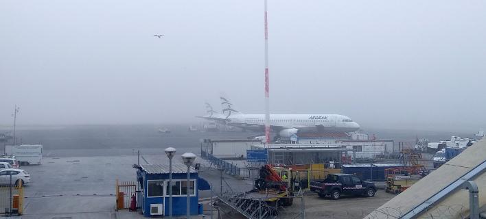 Προβλήματα στο αεροδρόμιο «Μακεδονία»: Καθυστερήσεις λόγω χαμηλής νέφωσης και ισχυρών ανέμων
