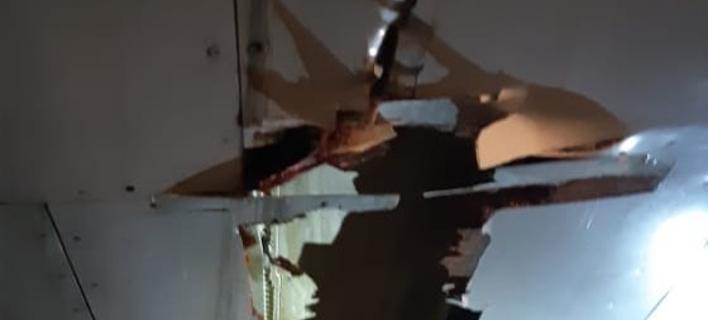 Αεροσκάφος της Air India έπεσε σε τοίχο (Φωτογραφία: Twitter)