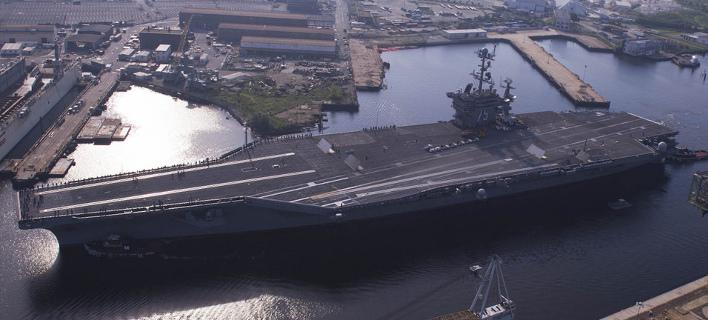 Οι ΗΠΑ στέλνουν στη Μεσόγειο το αεροπλανοφόρο USS Harry S. Truman με 80 μαχητικά -Το κατάστρωμά του είναι 4,5 στρέμματα [εικόνες & βίντεο]