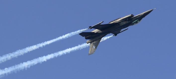 Οι Ελληνες πιλότοι των F-16 στα καλύτερά τους / Φωτογραφία: EUROKINISSI/ΣΤΕΦΑΝΟΣ ΡΑΠΑΝΗΣ