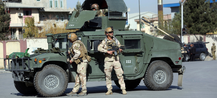 Δυνάμεις ασφαλείας στο Αφγανιστάν/Φωτογραφία αρχείου: AP