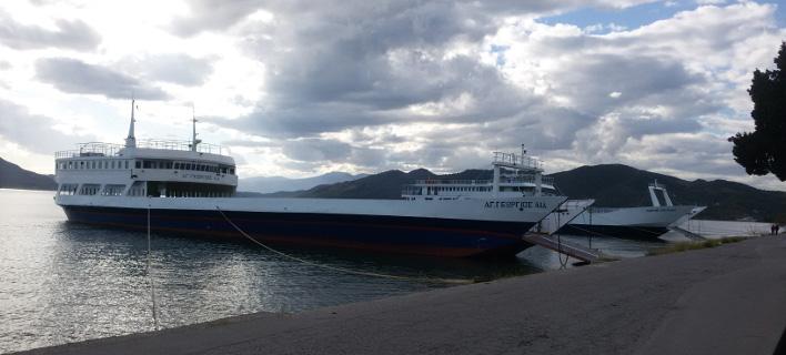 Βλάβη στο επιβατηγό πλοίο «Αγιος Γεώργιος Αιδηψού»