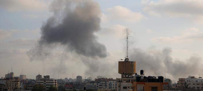 Αεροπορικές επιδρομές στη Λωρίδα της Γάζας/Φωτογραφία: AP