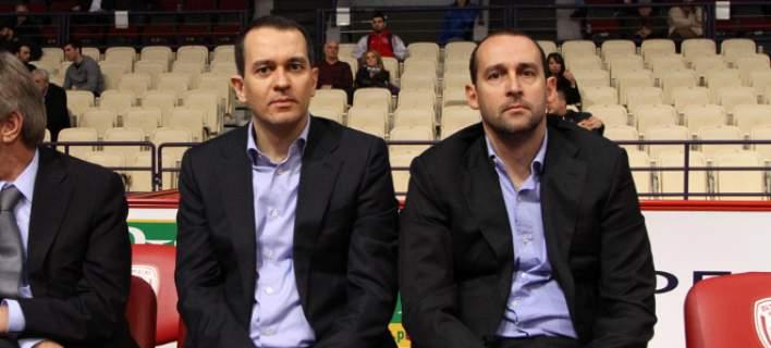 Οι αδελφοί Αγγελόπουλοι / Φωτογραφία: Eurokinissi