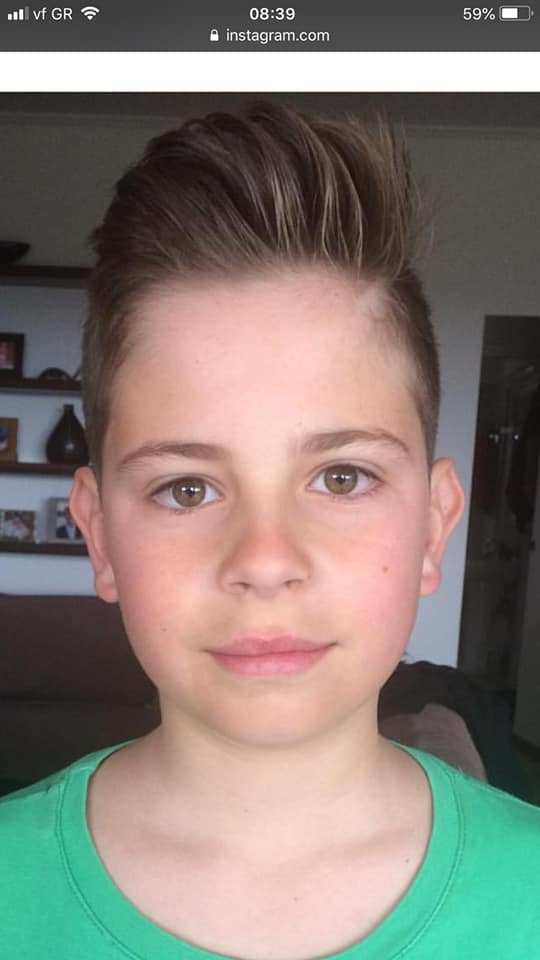 Ο 11χρονος Ανδρέας Φύτρος