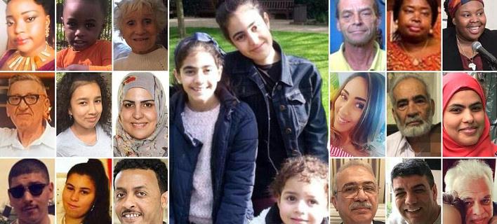 Λονδίνο: Πολλά παιδιά και ολόκληρες οικογένειες στους αγνοούμενους του πύργου Γκρένφελ [εικόνες]