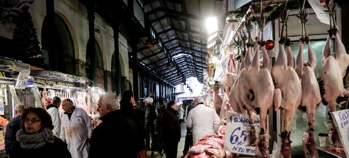 Η Βαρβάκειος αγορά/Φωτογραφία: Eurokinissi
