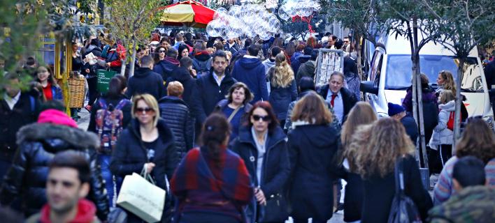 Ανοιχτά σήμερα τα καταστήματα (Φωτογραφία: EUROKINISSI/ ΓΙΩΡΓΟΣ ΚΟΝΤΑΡΙΝΗΣ)