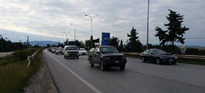 Στο υπουργείο Μακεδονίας-Θράκης κατευθύνονται οι αγρότες της Ανατολικής Θεσσαλονίκης