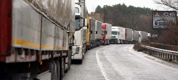 Μπλόκα στα σύνορα με την Ελλάδα στήνουν το Πάσχα οι Βούλγαροι μεταφορείς