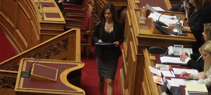 H Eφη Αχτσιόγλου/Φωτογραφία αρχείου: Eurokinissi