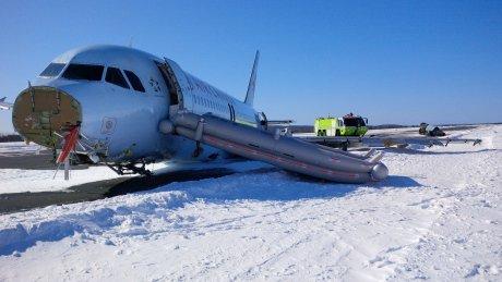 Airbus ίδιο με αυτό των Άλπεων: ΕΚΤΟΣ ΠΟΡΕΙΑΣ και με ανώμαλη προσγείωση. 23 τραυματίες[photos-video]