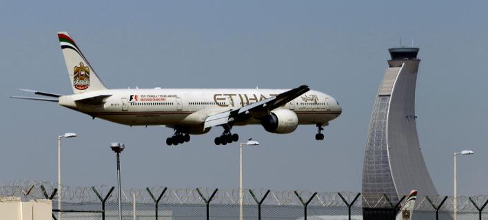 Η γυναίκα γέννησε μέσα στην τουαλέτα αεροσκάφους της Etihad Airways (Φωτογραφία: ΑΡ/αρχείο)
