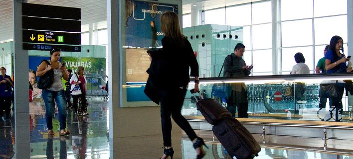 Στιγμιότυπο από διεθνές αεροδρόμιο/Φωτογραφία: Pixabay