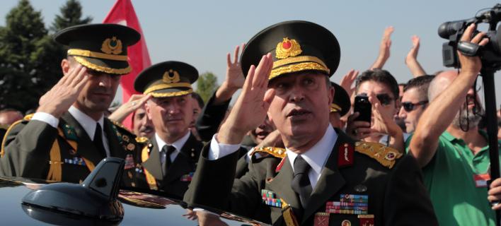 Απειλητικές δηλώσεις του Τούρκου υπουργού Αμυνας για την ΑΟΖ- φωτογραφία AP