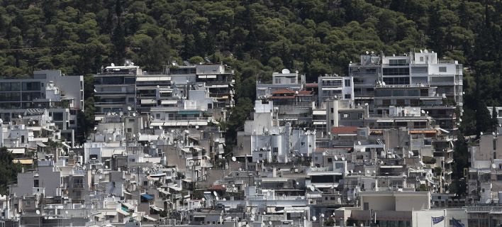Το «σπάσιμο» των κόκκινων στεγαστικών δανείων με πάγωμα μέρους της οφειλής προωθούν οι τράπεζες/Φωτογραφία: Eurokinissi