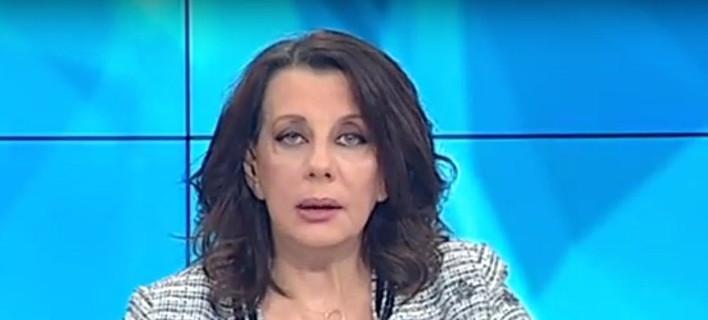 Η παρουσιάστρια της ΕΡΤ Κατερίνα Ακριβοπούλου