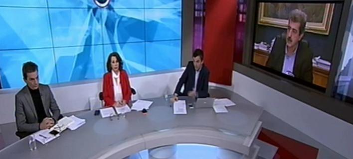 Η συνέντευξη Πολάκη στην ΕΡΤ -Φωτογραφία: Youtube