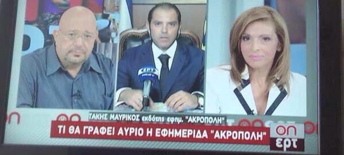 Το «ρεπορτάζ» της ΕΡΤ που έκανε έξαλλο τον Μεϊμαράκη -Ολο το παρασκήνιο