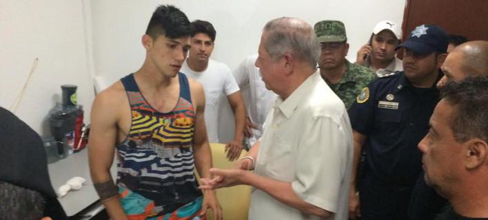 Η πρώτη φωτογραφία του Πουλίδο μετά την απελευθέρωση -Αίσιο τέλος στο θρίλερ για τον άσο του Ολυμπιακού [εικόνα & βίντεο]