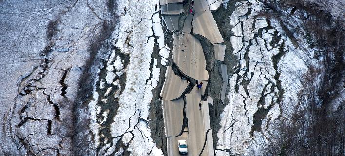 Σεισμός στην Αλάσκα/ Φωτογραφία: Twitter