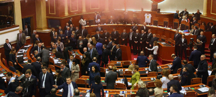 Το αλβανικό κοινοβούλιο (Φωτο αρχείου: ΑΡ)