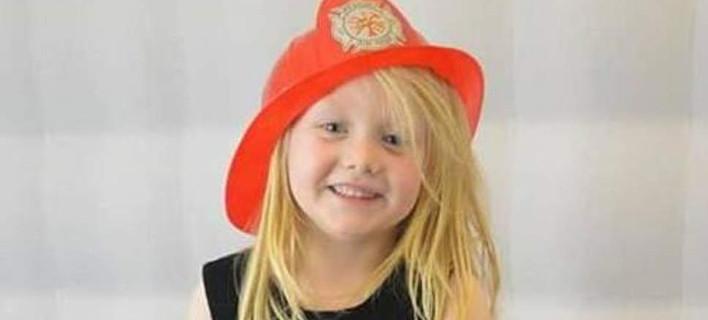 H σορός της μικρής Αλίσα Μακ Φέιλ βρέθηκε σε απόσταση ενάμιση χιλιομέτρου από το σπίτι της γιαγιάς της (Φωτογραφία: Facebook)