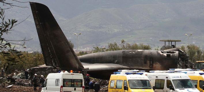 Αεροπορική τραγωδία στην Αλγερία (Φωτογραφία: AP/Anis Belghoul)