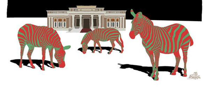 Πράσινα άλογα με... κόκκινες γραμμές -Σκίτσο για το όνειρο του Τσίπρα [εικόνα]