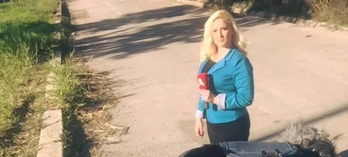 Απίστευτο περιστατικό: Xτύπησαν δημοσιογράφο του Alpha την ώρα του ρεπορτάζ