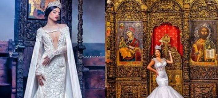 Πρόκληση Αλβανών: Εκαναν φωτογράφιση μόδας σε ορθόδοξες ιστορικές εκκλησίες [εικόνες]