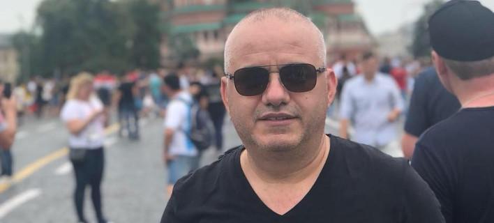 Ο Αλβανός δημοσιογράφος Αρτάν Χότζα / Φωτογραφία: Facebook