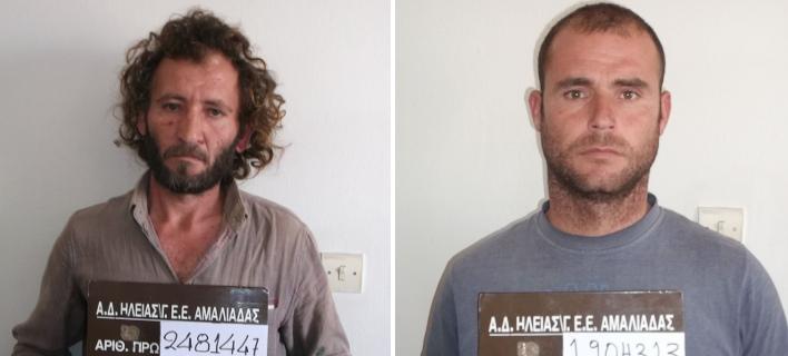 Αυτοί είναι οι δύο Αλβανοί που συνελήφθησαν για πορνογραφία ανηλίκων στην Αμαλιάδα [εικόνες]