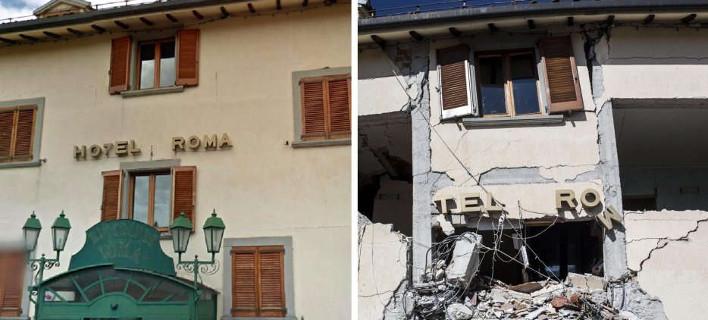 Το ιστορικό ξενοδοχείο Roma στο Αματρίτσε έγινε συντρίμμια -Ηταν γεμάτο τουρίστες [εικόνες]