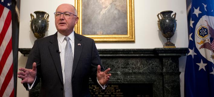 Φωτογραφία: Ο νέος πρέσβης των ΗΠΑ στην Ολλανδία/AP