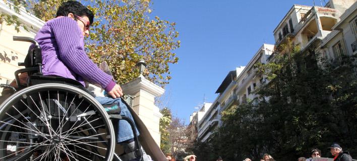Ατομα με αναπηρία σε Τσίπρα: Σταματήστε τους πλειστηριασμούς α' κατοικίας