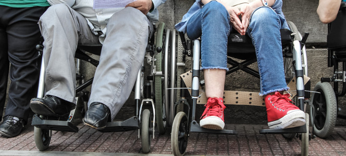 Προστασία από τα ,προαπαιτούμενα» του Ιουνίου ζητά η Συνομοσπονδία ατόμων με αναπηρία/ Φωτογραφία: ΔΗΜΗΤΡΟΠΟΥΛΟΣ ΣΩΤΗΡΗΣ/ Eurokinissi