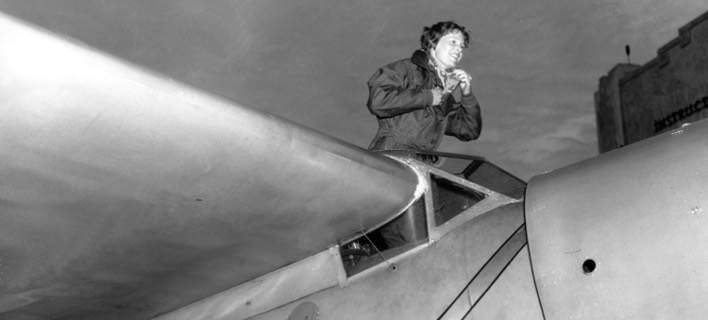 H θρυλική αεροπόρος Αμέλια Ερχαρτ (Φωτογραφία αρχείου: ΑΡ)