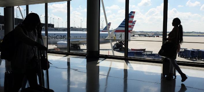 Στιγμές τρόμου για τους επιβάτες της American Airlines (Φωτογραφία αρχείου: AP/ Kiichiro Sato)