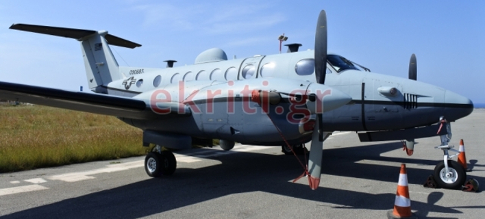 Φωτογραφία: ekriti.gr- Αμερικάνικα αεροσκάφη στο Ηράκλειο