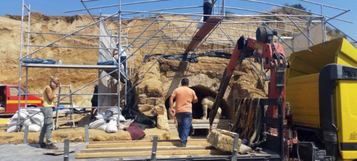 Οι 10 κορυφαίες αρχαιολογικές ανακαλύψεις της χρονιάς -Ο τάφος της Αμφίπολης ανάμεσά τους [εικόνες]