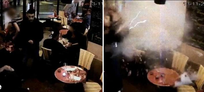 Σοκ -Η στιγμή που ο τζιχαντιστής καμικάζι ανατινάζεται μέσα σε εστιατόριο στο Παρίσι [βίντεο & εικόνες]