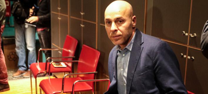 Ο Γιώργος Αμυράς/ Φωτογραφία: EUROKINISSI- ΧΡΗΣΤΟΣ ΜΠΟΝΗΣ